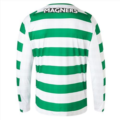 Celtic Mens Home Shirt 18/19 with Long Sleeves and Sponsor