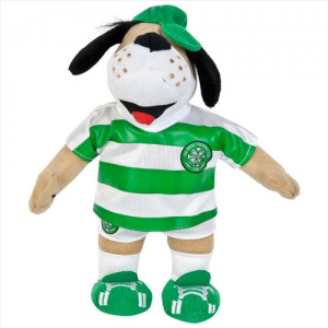 Celtic Mascot Hoopy the Hound - Small