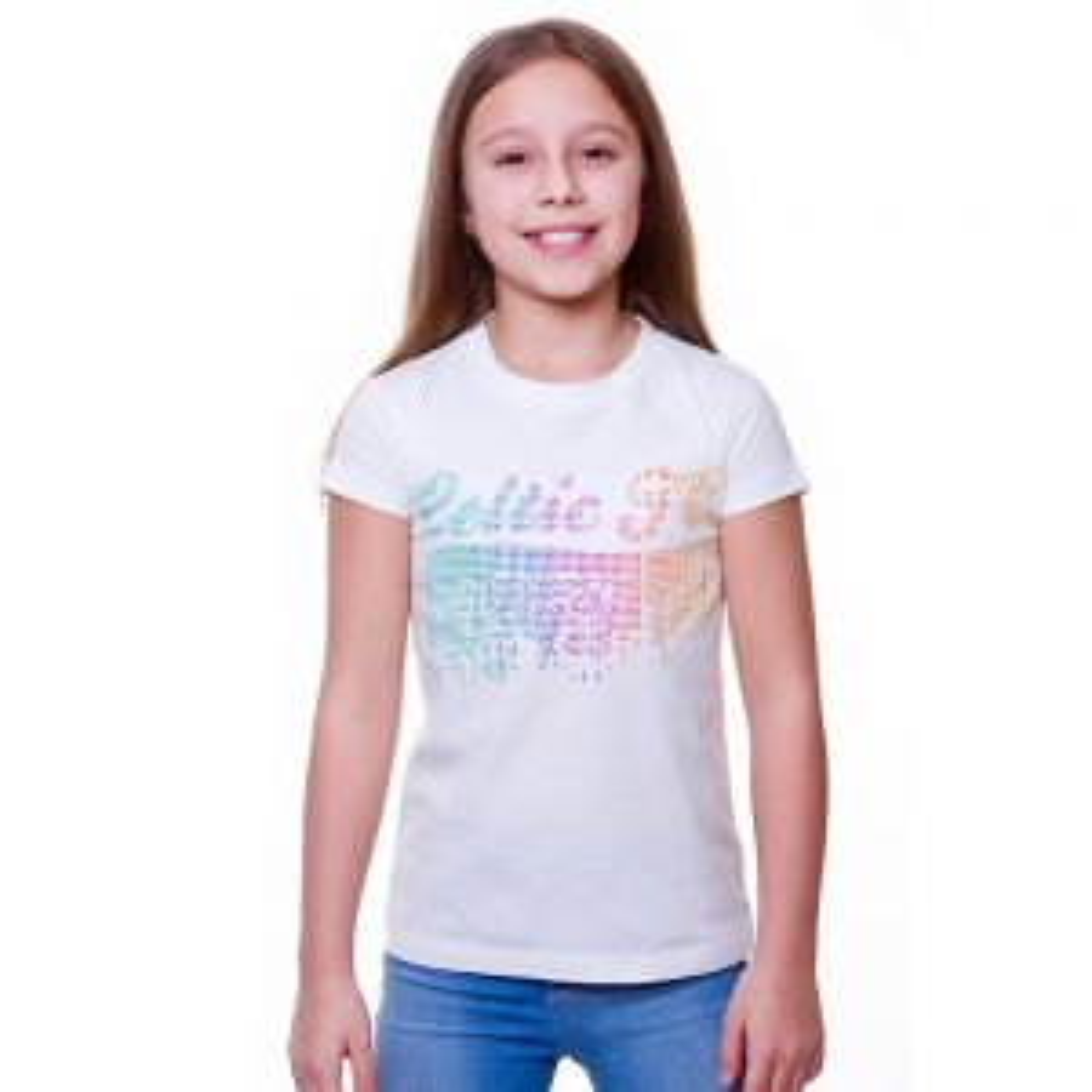 Celtic Junior Dot Print T-Shirt