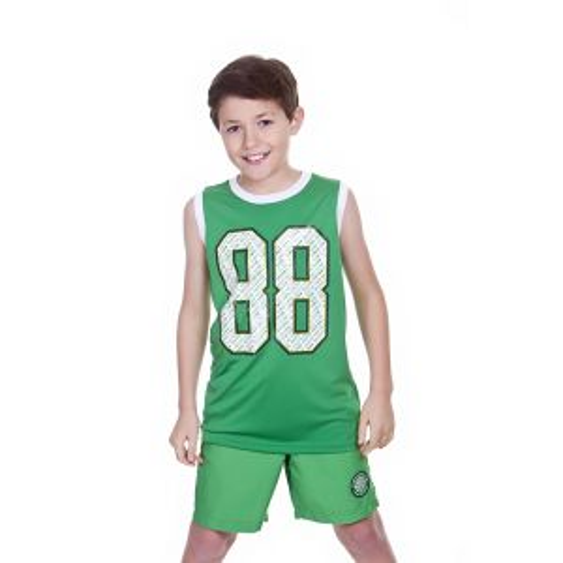 Celtic Junior Poly Mesh Vest