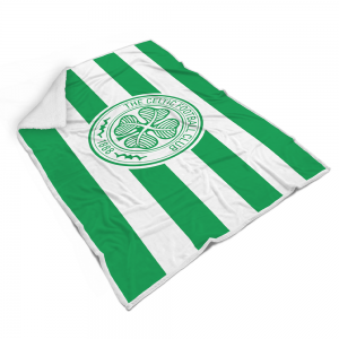 Celtic Hooped Fleece Blanket