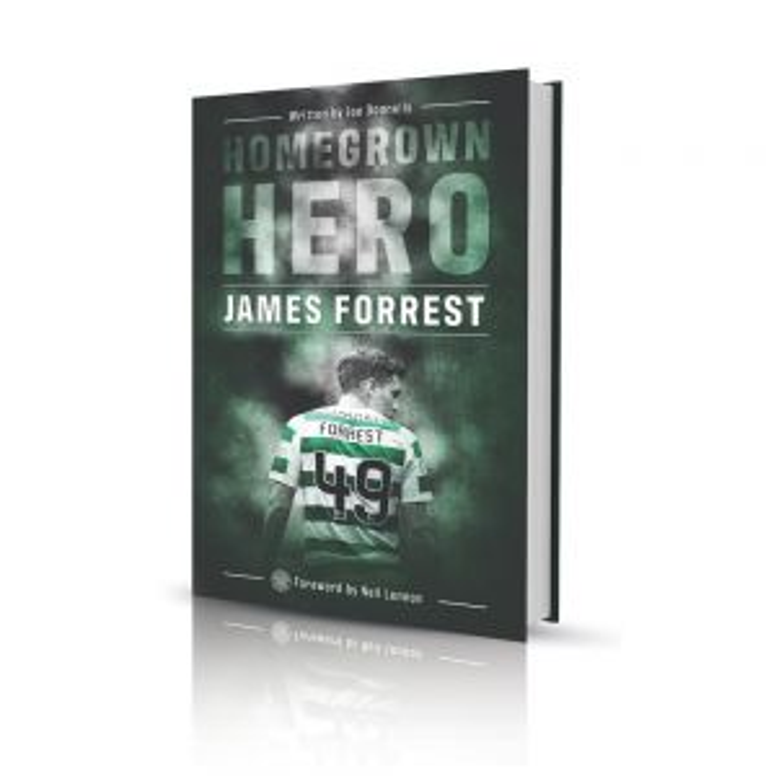 Homegrown Hero - James Forrest Book