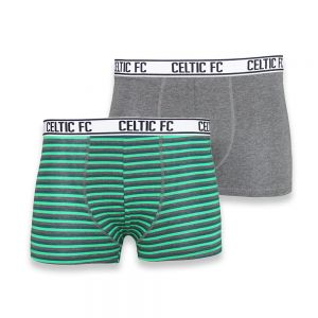 Celtic Junior 2 Pack Boxer Shorts