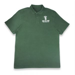 Celtic Champions 9 In A Row Pique Polo Shirt