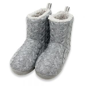 Celtic Womens Cable Knit Slipper