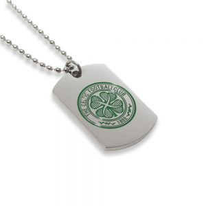 Celtic Stainless Steel Crest Dog Tag & Chain