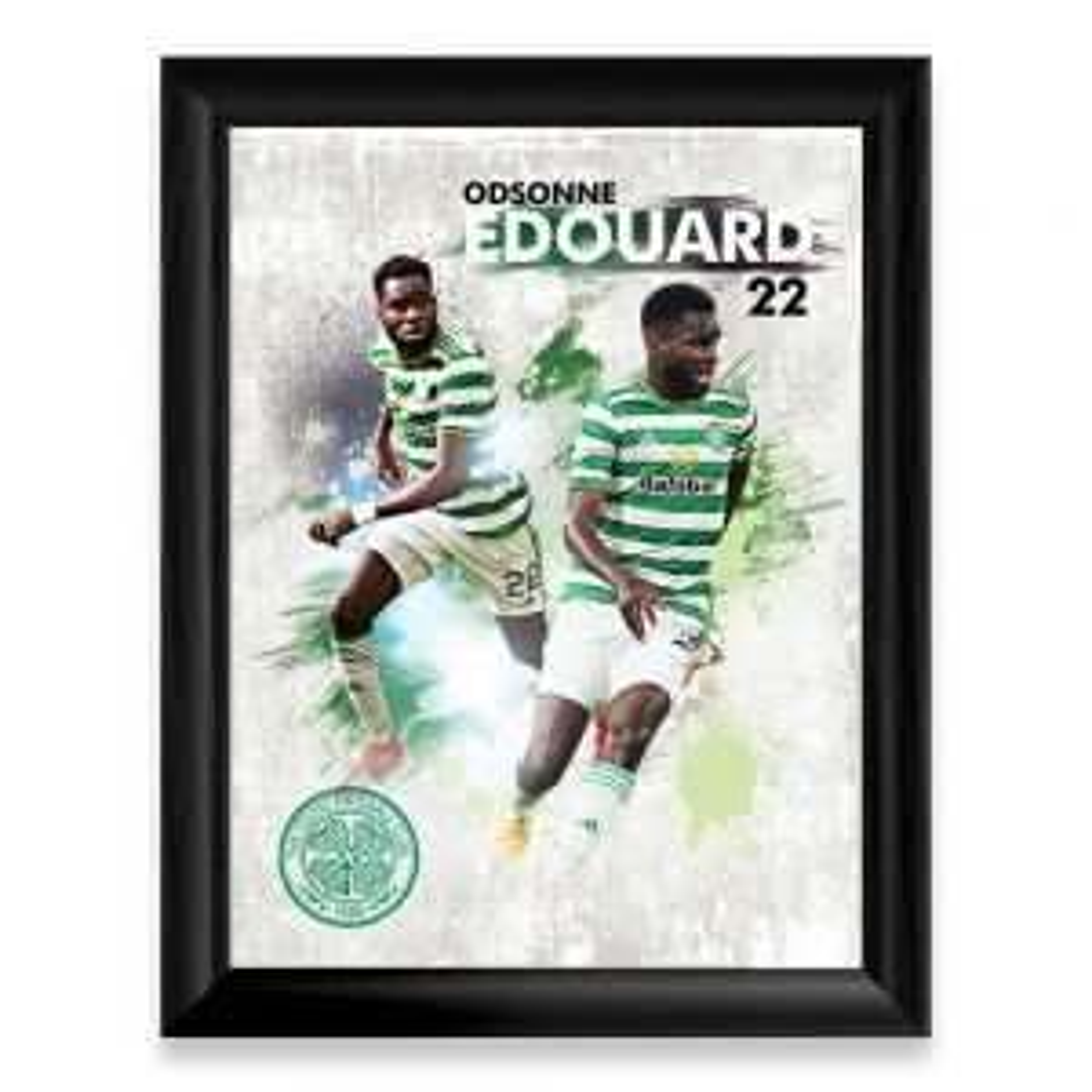 Celtic Odsonne Edouard Player Print