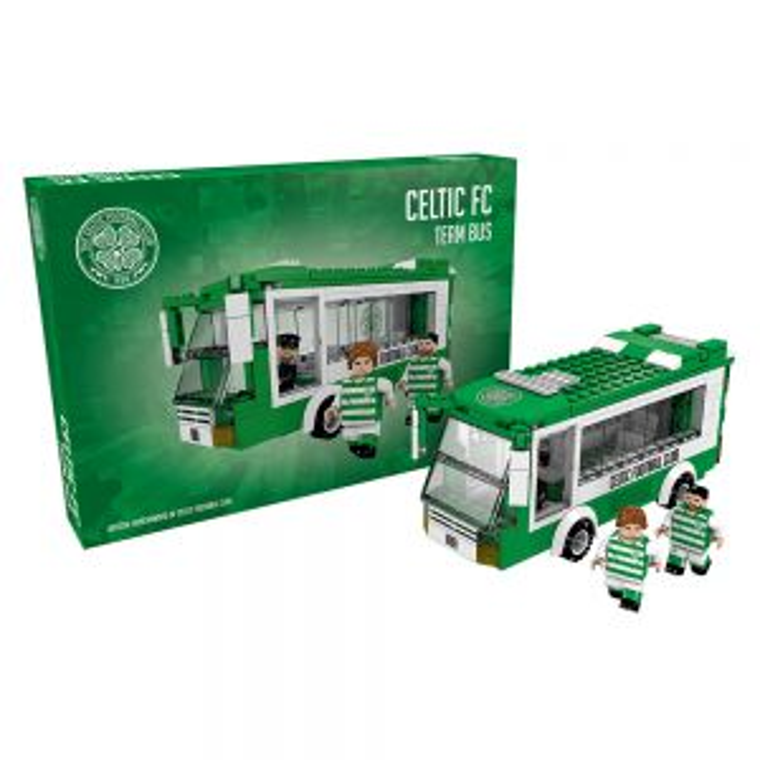 Celtic Bricks Team Bus