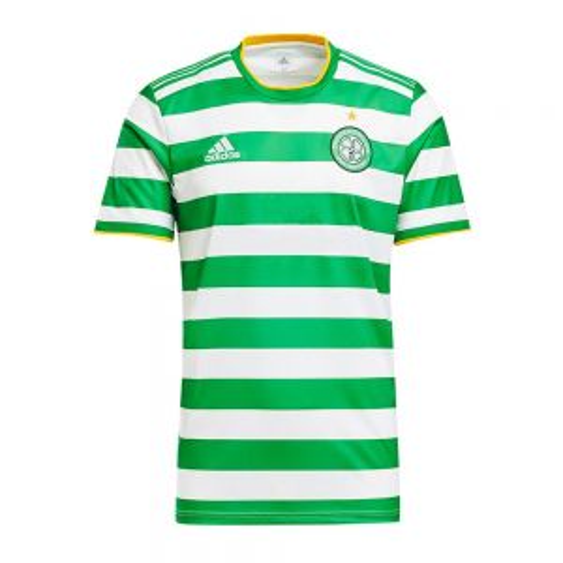 Celtic Mens 20/21 Home Shirt with No Sponsor - EUR version