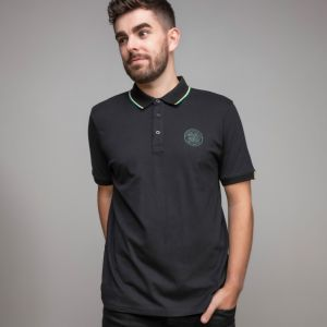 Celtic Essentials Crest Tipped Polo Shirt