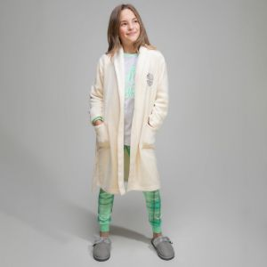 Celtic Junior Clover Dressing Gown
