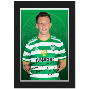 Celtic FC McGregor Autograph Photo Folder