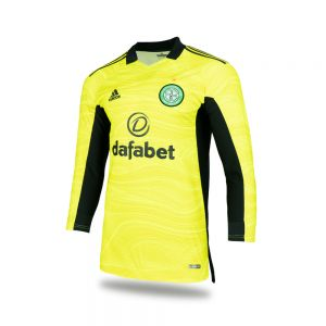 Celtic Mens 2021/22 Home Goalkeeper Shirt with Long Sleeves