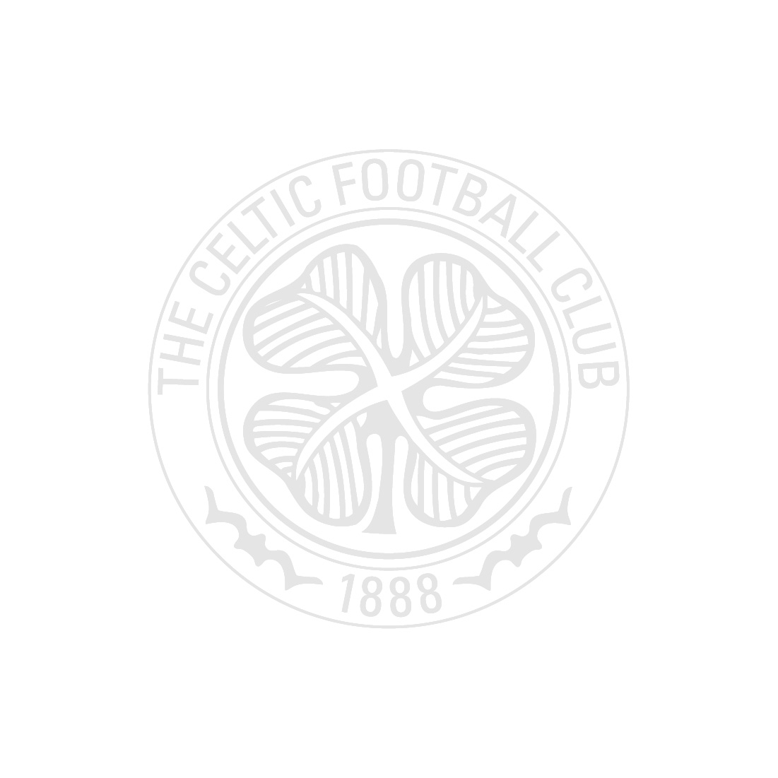 Celtic Mens Heritage Cross Pinstriped Polo Shirt