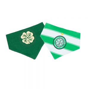Celtic Baby Home and Away 2 Pack Bibs