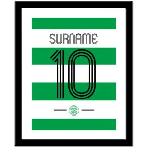 Celtic Personalised Retro Shirt Print