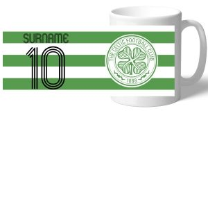 Celtic Personalised Retro Shirt Mug