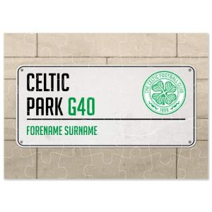 Celtic Personalised Street Sign Jigsaw