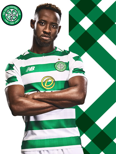 Celtic FC Official Home Kit 18 19 Dembele