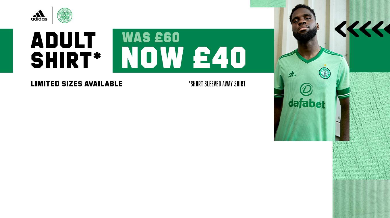 Celtic FC Away Kit Reductions