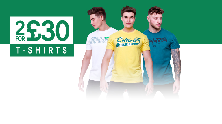 2 for £30 T-shirts