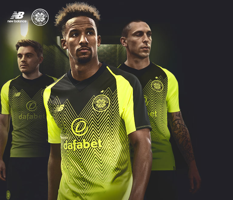 Only the Bold Celtic FC Third Kit 18/19