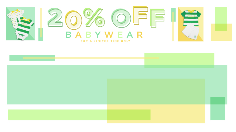 20% off Babywear