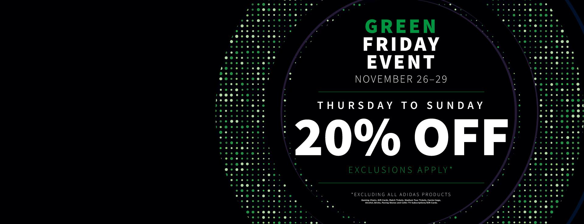 Green Friday Offer