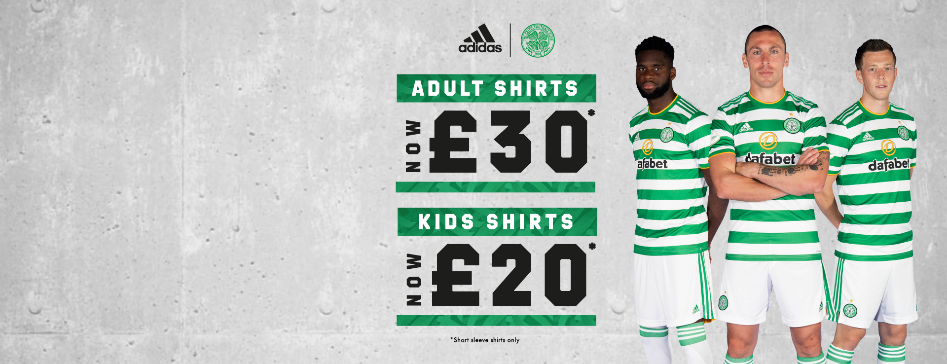 Celtic FC 2020/21 Home Kit Reductions
