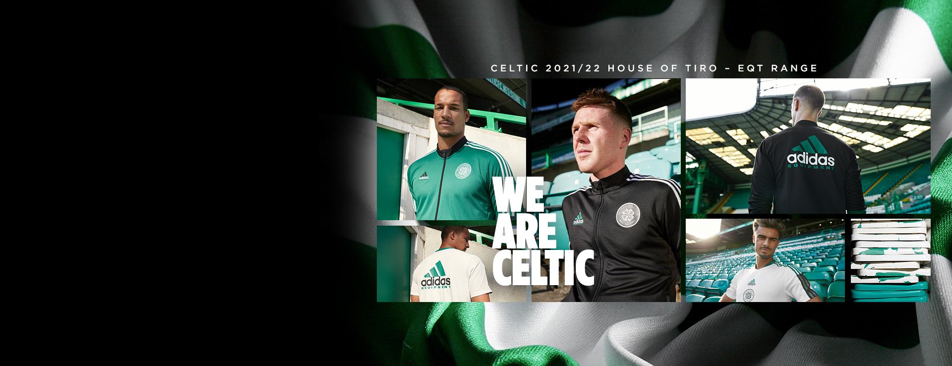 Celtic FC adidas House of Tiro EQT Range