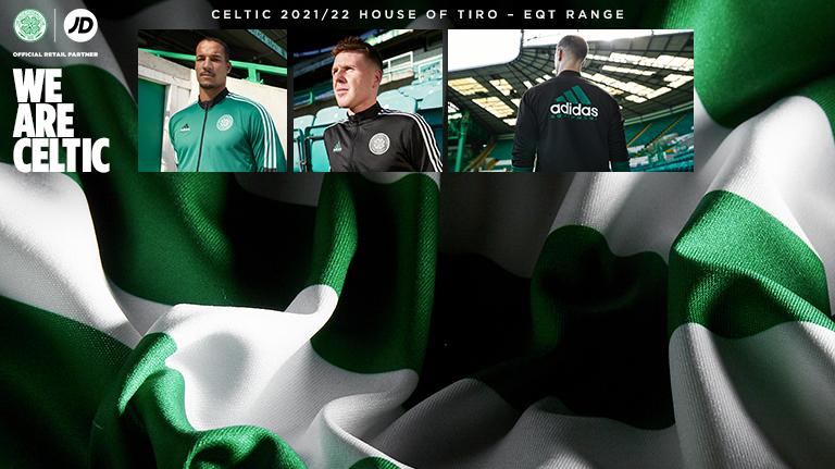 Celtic Adidas EQT Range