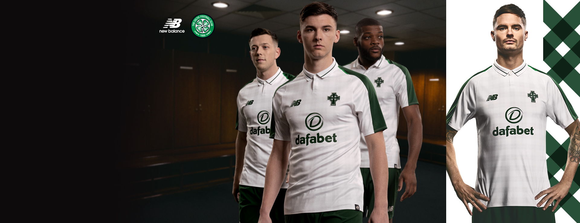 New Celtic FC Away 18/19 Kit