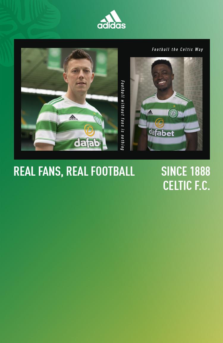 Celtic 2021/22 Home Kit