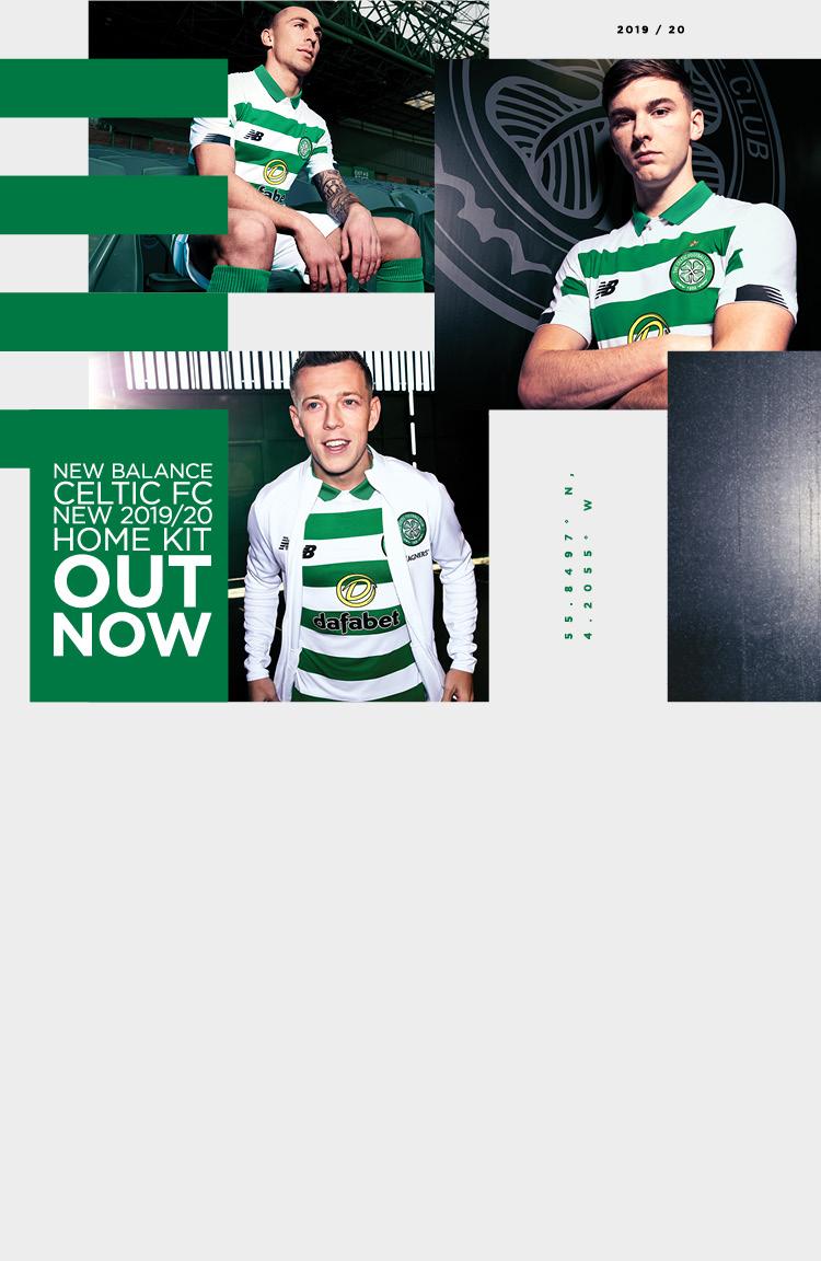 Celtic FC 2019/20 Home Kit