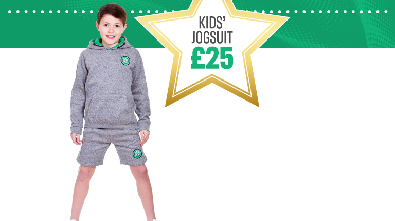 Celtic FC Star Offer Jogsuit Now £25
