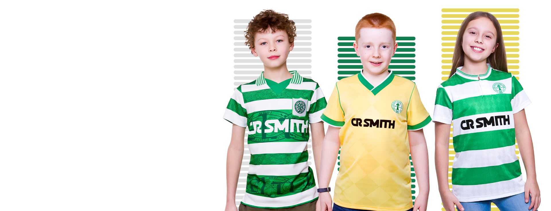 Kids Official Celtic F.C Personalised Gift Boxed Football Shirt