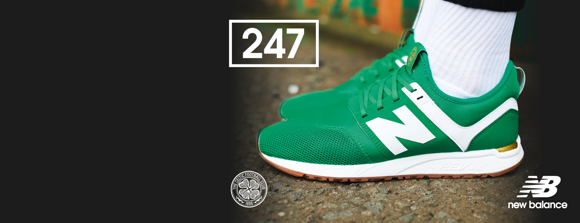 Celtic FC New Balance 247 Trainer
